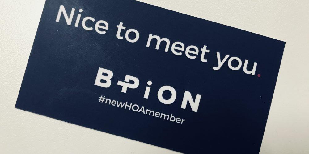 BPiON HOA membership
