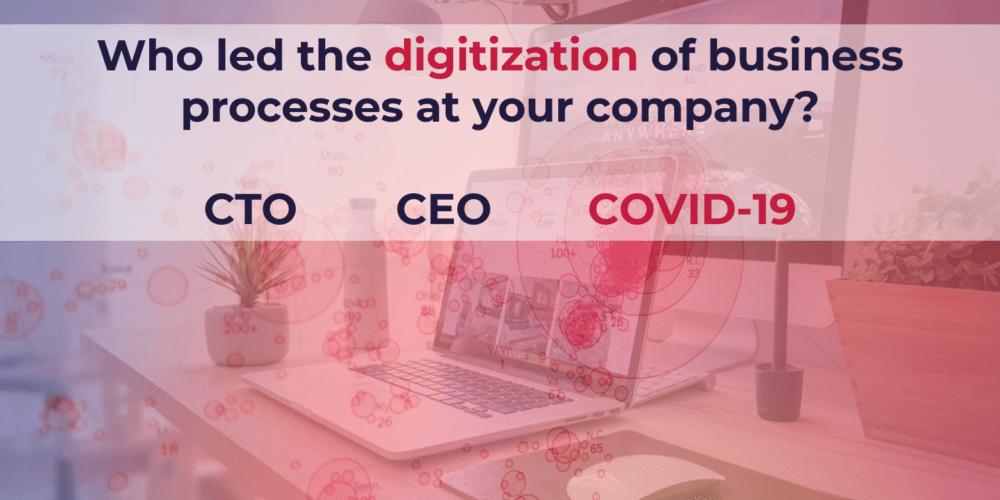 Coronavirus lead the implement of digitalization at companies